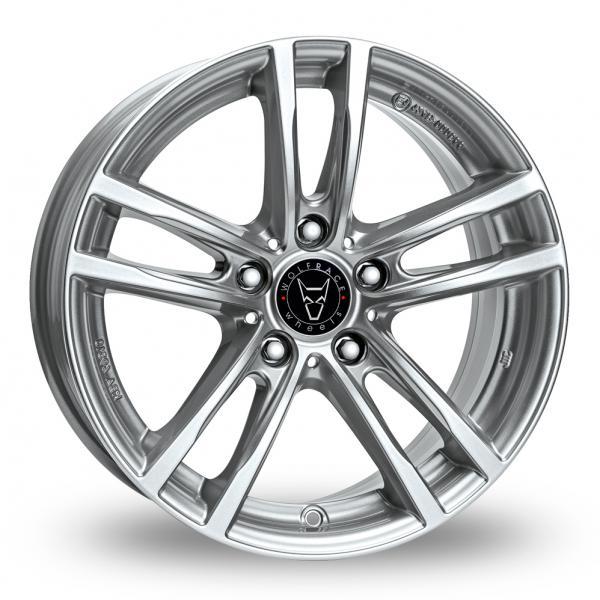 Wolfrace X10 Silver Alloy Wheel