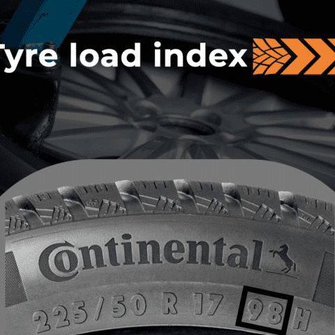 Tyre Load Index numbers and what those mean