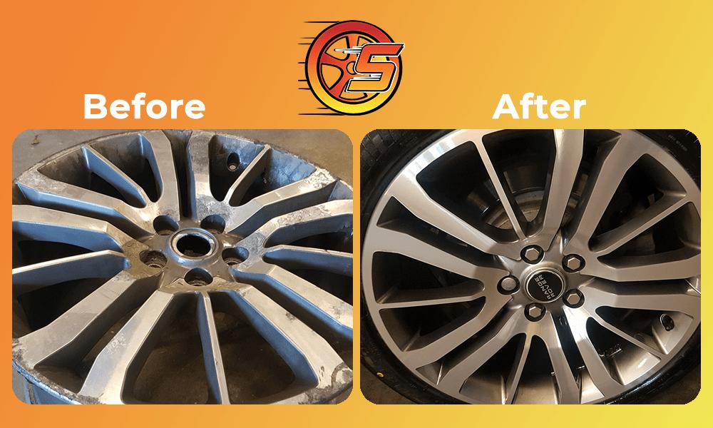 Diamond cut wheel refurbishment