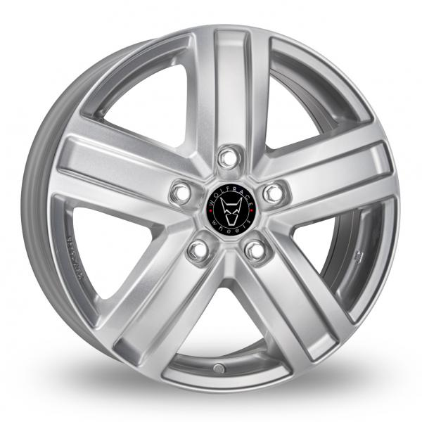 17″ Wolfrace Transporter TP5 Silver for Mercedes Vito