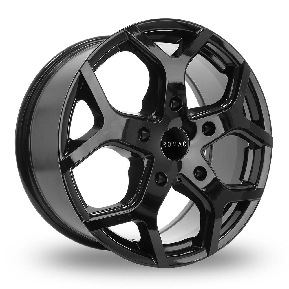 16″ Romac Cobra Gloss Black For Ford Transit Custom