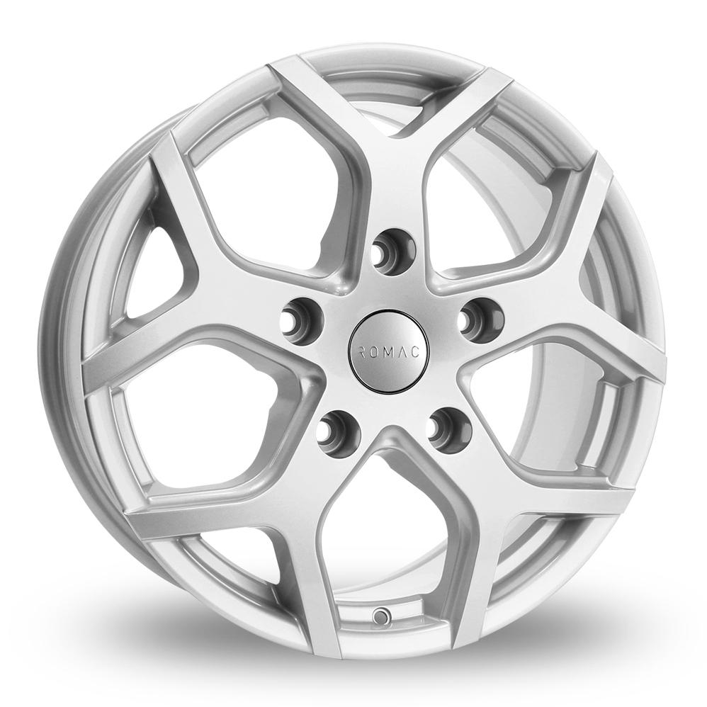16″ Romac Cobra Silver For Ford Transit Custom