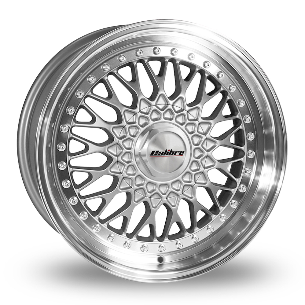18″ Calibre Vintage Silver for Ford Transit Courier