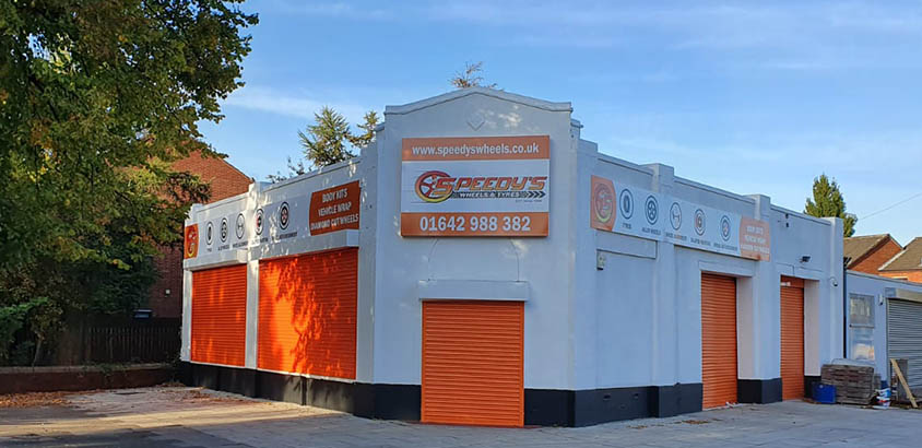 Speedy's Wheels & Tyres Middlesbrough Store