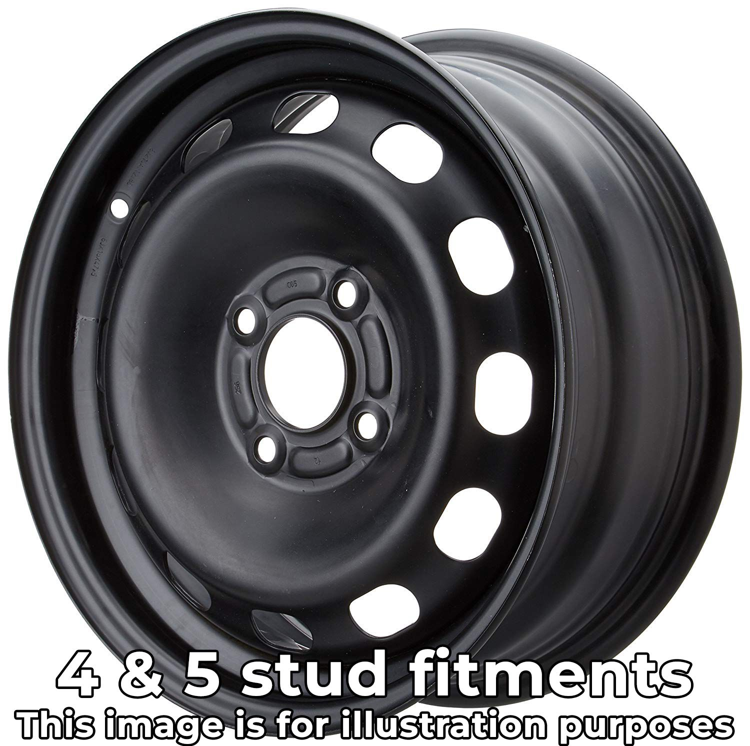 17″ Steel Wheel – 4 and 5 Stud Fitments – For all makes & models