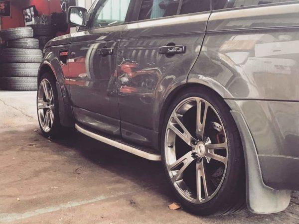 Set of 22″ DaVinci Spirito Wheels + 285/35/22 Tyres for Range Rover