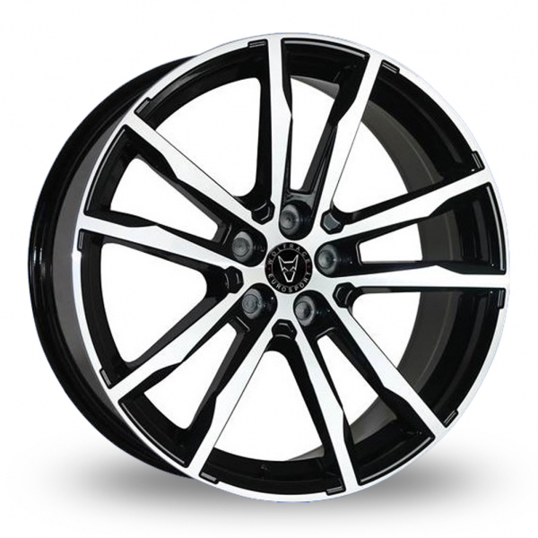 18″ Wolfrace Dortmund Black Polished for Mercedes Citan