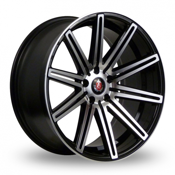 19″ Axe EX15 Black Polished for Volkswagen Caddy