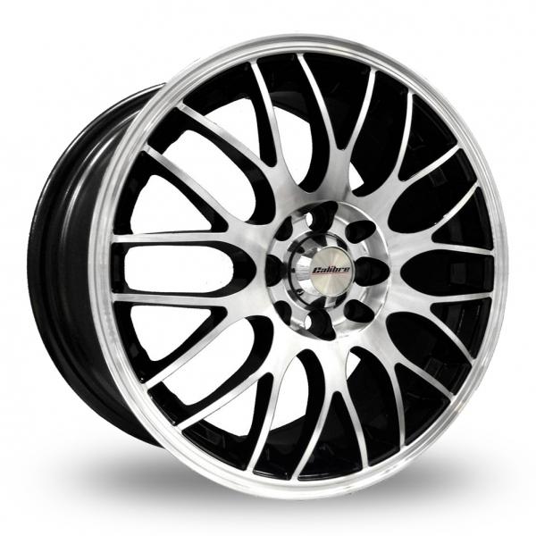 17″ Calibre Motion 2 Black Polished for Volkswagen Caddy