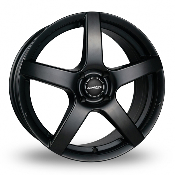 17″ Calibre Pace Satin Black for Volkswagen Caddy