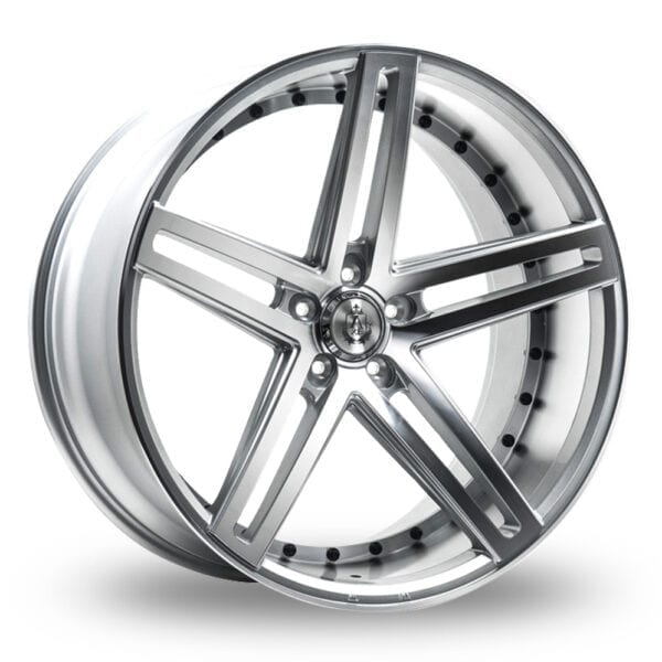 19″ Axe EX20 Silver Polished for Volkswagen Caddy