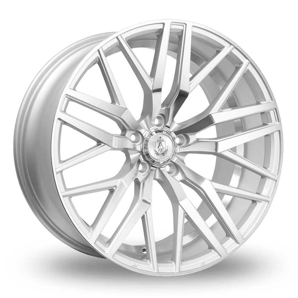 19″ Axe EX30 Silver Polished for Volkswagen Caddy