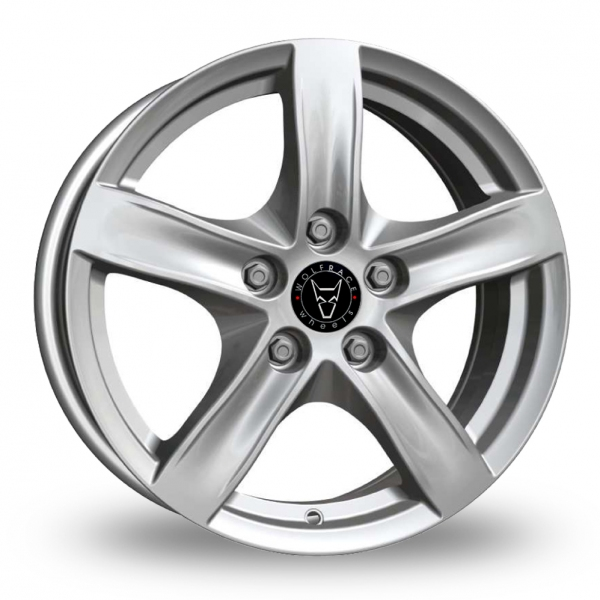 17″ Wolfrace Arktis Silver for Ford Transit Connect