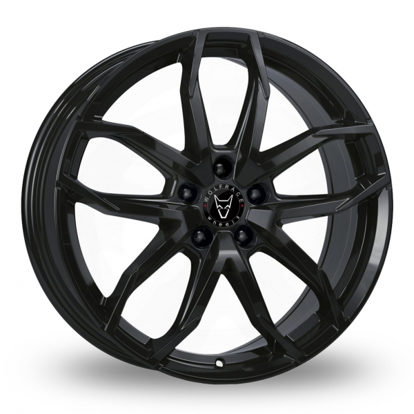 17″ Wolfrace Lucca Gloss Black for Ford Transit Connect