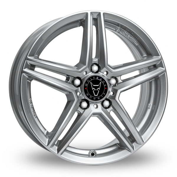 17″ Wolfrace M10 Silver for Ford Transit Connect