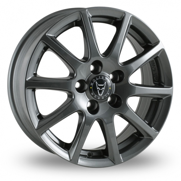 16″ Wolfrace Milano Titanium for Volkswagen Caddy Maxi