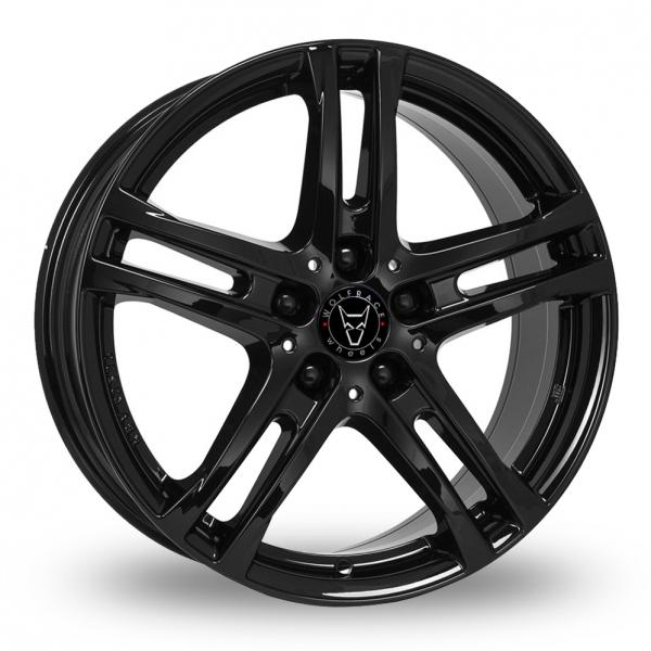 18″ Wolfrace Bavaro Black for Volkswagen Caddy Maxi