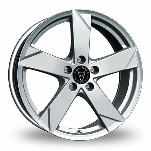 17″ Wolfrace Kodiak Polar Silver for Ford Transit Connect