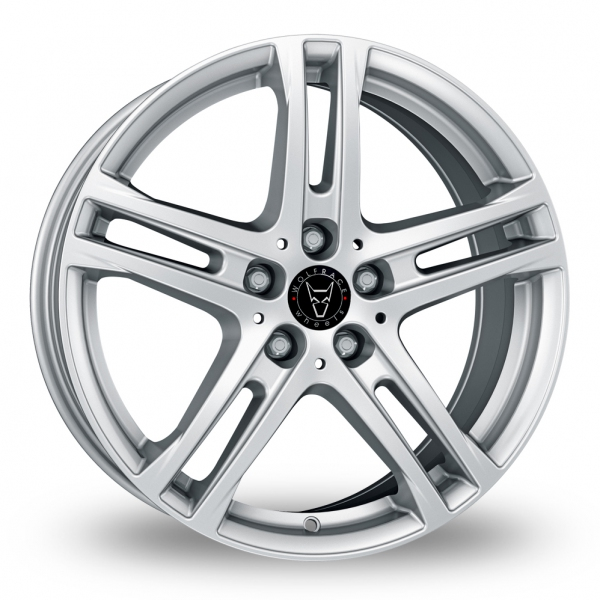 18″ Wolfrace Bavaro Silver for Volkswagen Caddy Maxi