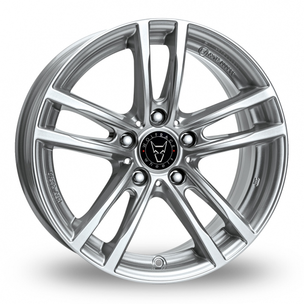 16″ Wolfrace X10 Silver for Volkswagen Caddy Maxi